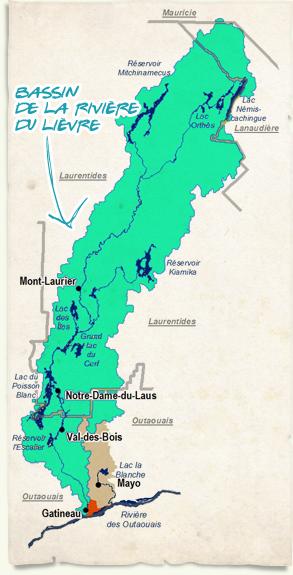 Bassin de la rivière du Lièvre